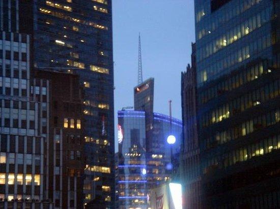 The Bryant Park Hotel: Vue de Time Square de la chambre