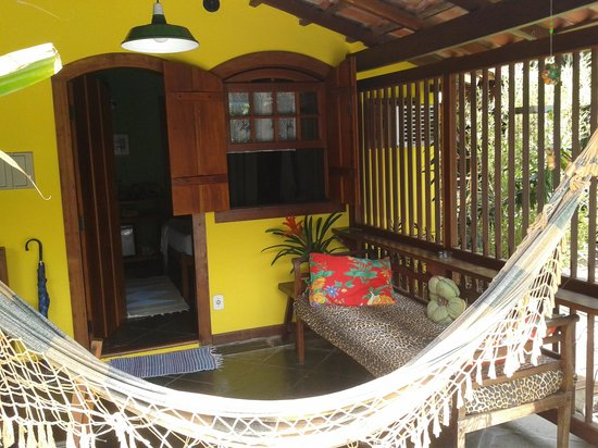 Pousada Missanga : Vista da varanda