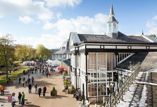 Pavilion Gardens: Promenade on events day