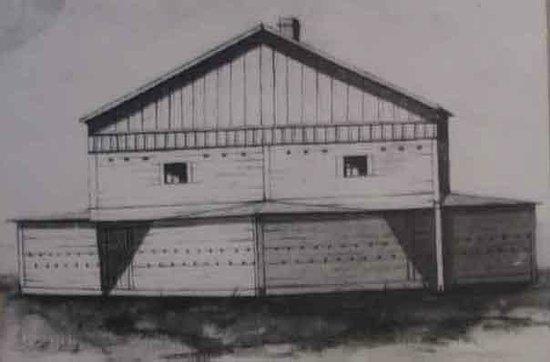 Cavalryman Steakhouse: An old Fort Sanders building.