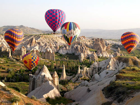 Anatolia Cave Pension: Baloonin in kapadokya