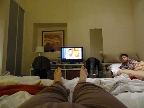 Best Western Alba Hotel: La chambre vu du lit