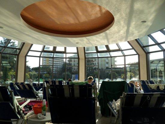 Hotel Sollievo Terme: solarium