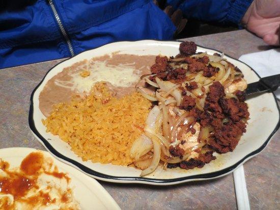 La Cabana Mexican Restaurant: Entree