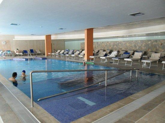 Hotel Sollievo Terme: piscina interna
