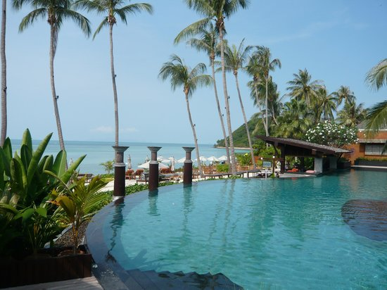 Mai Samui Resort & Spa: Pool vorne