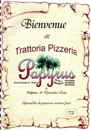 Trattoria pizzeria Papyrus