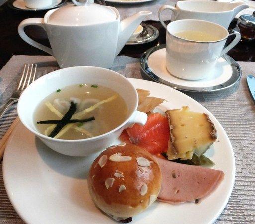 Waldorf Astoria Shanghai on the Bund: My breakfast