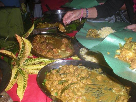 Asso Villa: cena mauriziana