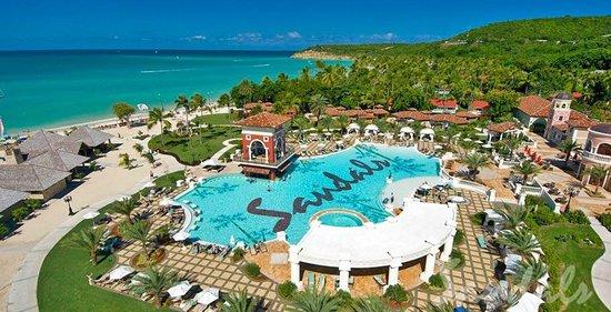 Sandals Grande Antigua Resort Amp Spa Updated 2018 Prices