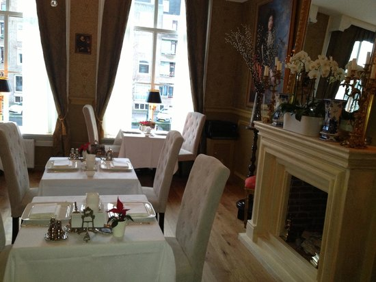 Boutique Hotel Huys van Leyden: breakfast room