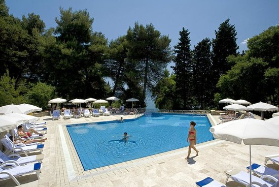Mediteran Residence Pool area