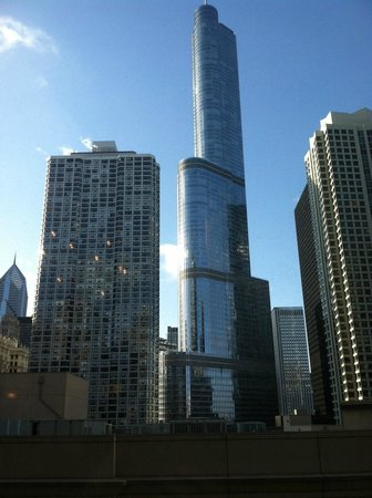 Homewood Suites by Hilton Chicago-Downtown: View from lobby
