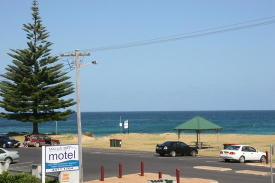 Malua Bay Motel: view from room