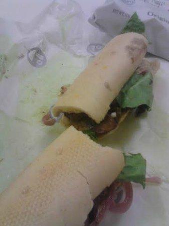 Offerdahl's: steak sandwich it was really good