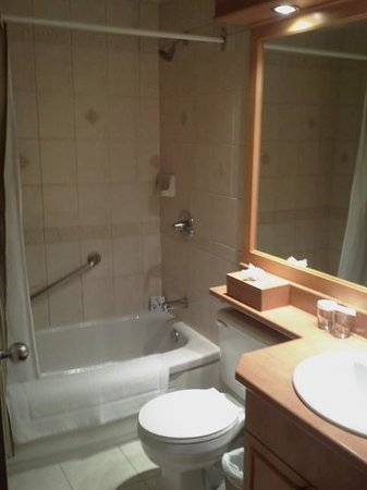 Hotel Manoir Victoria: Chambre de bain