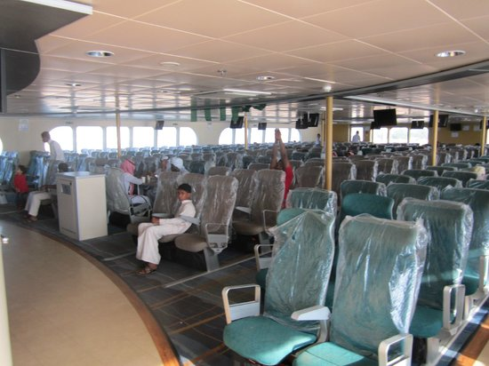 Farasan Islands: Inside the ferry