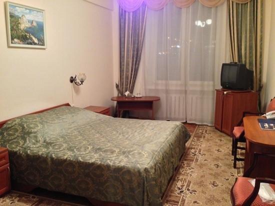 Hotel Ukraine: room
