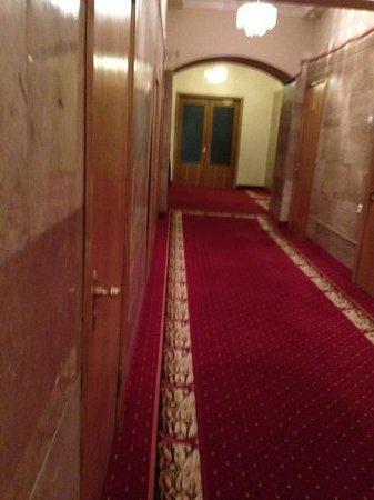 Hotel Ukraine: corridor