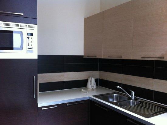 The Residence Les Ecrins: Cocina