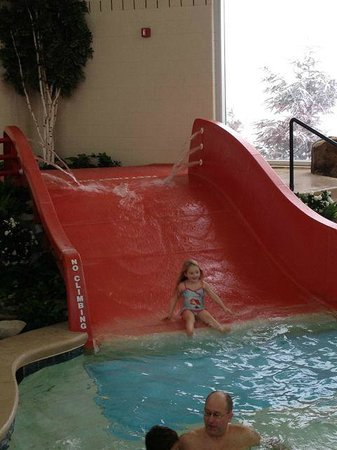 Mountain Lodge Condos: Indoor Pool Slide