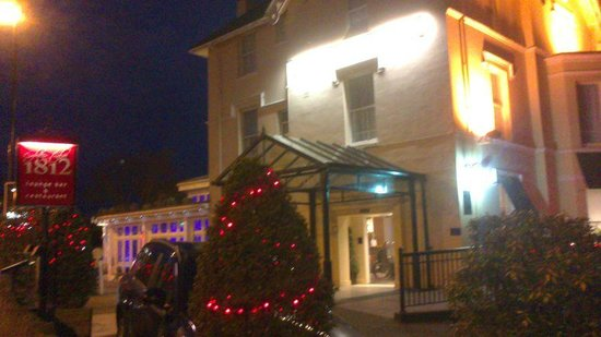 Royal Exeter Hotel : Hotel Main Reception Entrance