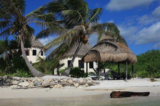 Balamku Inn on the Beach: north side #4,5,6