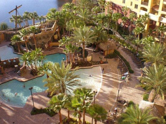 Wyndham Bonnet Creek Resort Tower 6 Pool Area