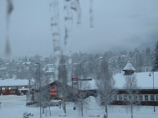 Scandic Hafjell: View from the hotel room
