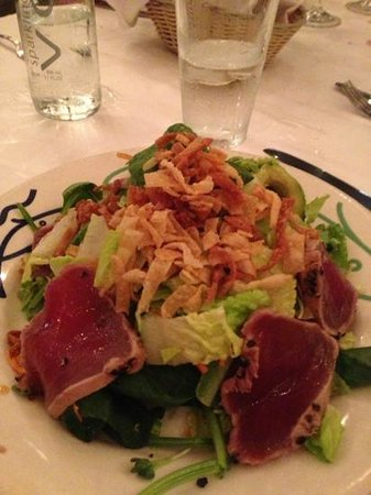 Cafe Santorini: Ahi tuna