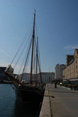 Copenhagen Admiral Hotel: Havenzijde Admiral Hotel