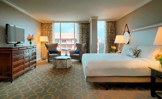 The Fairmont Dallas: King Suite
