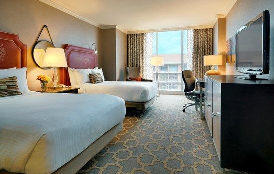 The Fairmont Dallas: Double Room