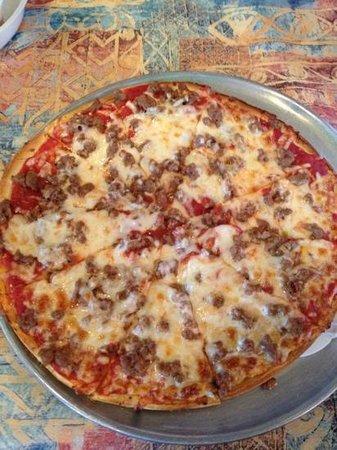 Tony's Pizza: Italian Sausage Pizza