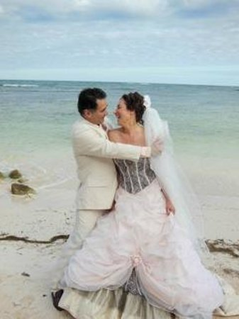 Balamku Inn on the Beach: wedding