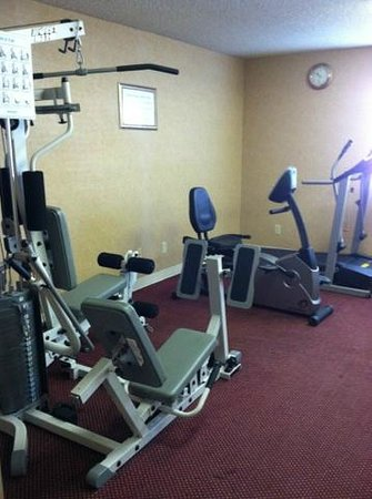 Comfort Inn Moreno Valley near March Air Reserve Base: Fitness Room