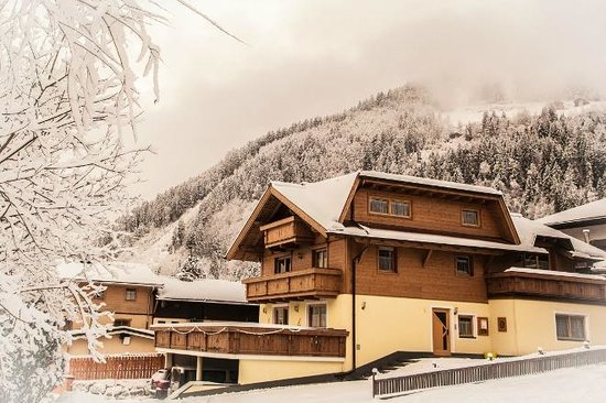 Haus Barber in Winter
