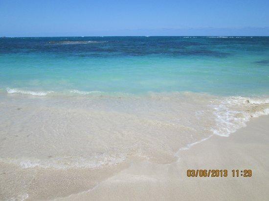 Grand Paradise Playa Dorada: Beach was beautiful!