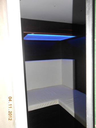 Casa Verde: binnenkant ijshut