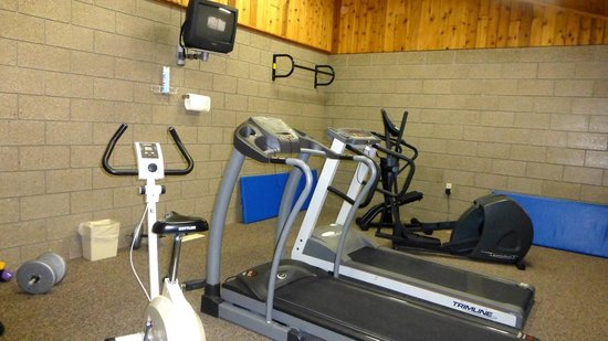 Kavanaugh's Sylvan Lake Resort: Exercise Room
