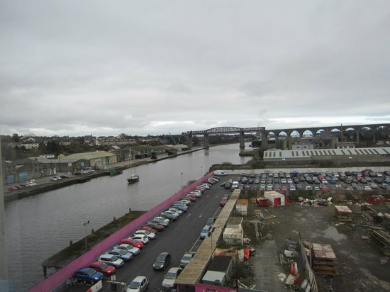 The d Hotel Drogheda: the view from our 5th floor room