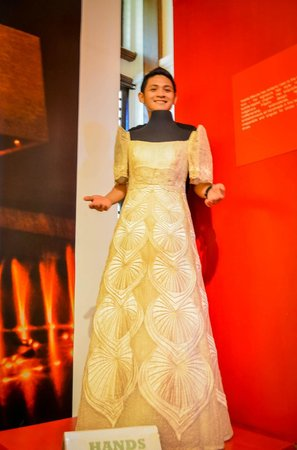 her gown - Picture of Malacanang Of The North, Ilocos Norte Province ...