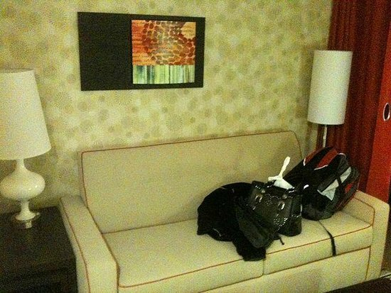 Home2 Suites by Hilton Dallas-Frisco: sitting area