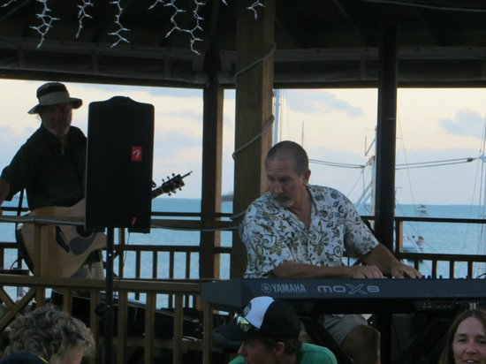 Long Island Breeze Resort: Ken on the keyboard