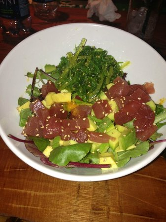 Casa Verde Hotel: Tuna and avocado salad..my favorite