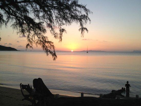 Nikki Beach Resort & Spa: Beautiful Sunset