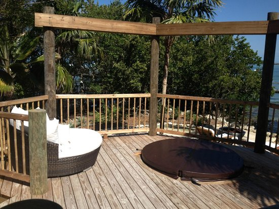 Little Palm Island Resort & Spa, A Noble House Resort : Private deck!