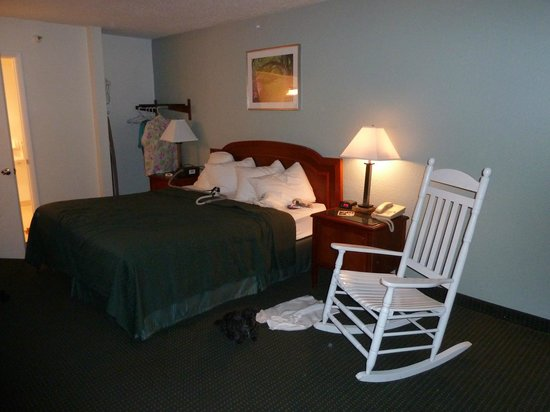 Ramada Hilton Head: Lovely room