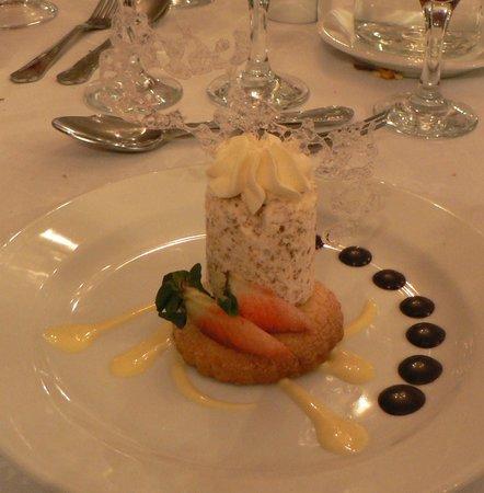 Bloomfield House Hotel, Leisure Club & Spa: Brown bread parfait- yummy!!