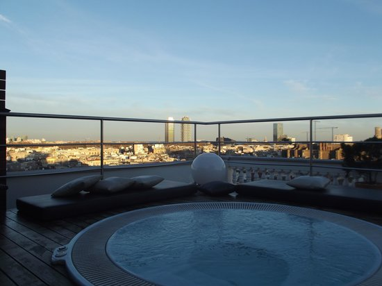 H10 Montcada Boutique Hotel: Rooftop view